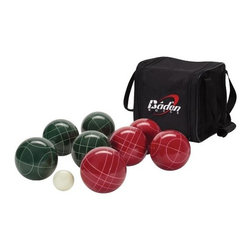 Baden Champions Series Bocce Ball Set - Bocce ball is an Italian sport, but it's a fun game for all adults and kids alike.
