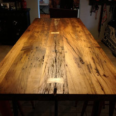 Eclectic Dining Tables by Porter Barn Wood LLC