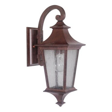 Jeremiah Lighting - Jeremiah Lighting Z1354 1 Light Ambient Light Outdoor Wall Sconce from the Argen - Jeremiah Lighting Z1354 Argent II 1 Light Ambient Light Outdoor Wall SconceFeaturing the classic outlines of a 19th century street lamp, this outdoor wall sconce from the Argent II collection will enhance the look of any home with its timeless elegance.With its classic outlines and decorative finials , the Argent II collection will enhance the timeless elegance of any home.Jeremiah Lighting Z1354 Features: