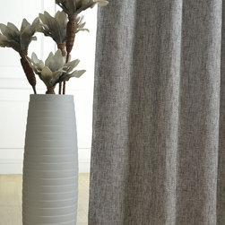 Custom Made Curtains - Specially Textured Silver Grey Custom Made Curtains (all size)