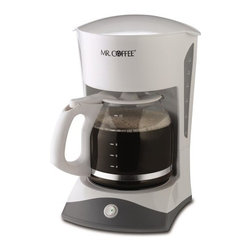 SUNBEAM RIVAL - 12-Cup Coffeemaker White - Features: