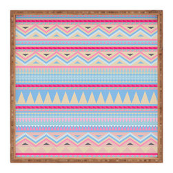 DENY Designs - Iveta Abolina Pastel Navajo Square Tray - With DENY's multifunctional square tray collection, you can use it for decoration in just about any room of the house or go the traditional route to serve cocktails. Either way, you��_��__ll be the ever so stylish hostess with the mostess!