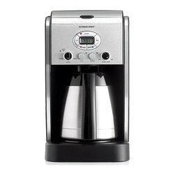 Cuisinart DCC-2750 Coffeemaker, 10 Cup Thermal Extreme Brew - I personally have a Cuisinart coffeemaker, and it does a fine job of brewing coffee in the morning.