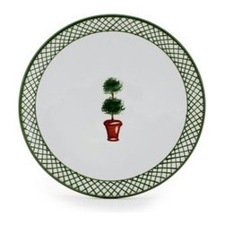 Artistica - Hand Made in Italy - GIARDINO: Bread/Butter Plate - GIARDINO COLLECTION: The Giardino (Garden) collection, is an exclusive product from Deruta of Italy.