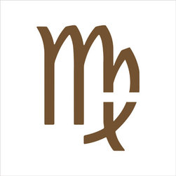 Stencil Ease - Virgo Zodiac Stencil - Virgo Zodiac Sign (August 23 - September 22) Super-Size Shape Stencil Templates The Virgo Zodiac Sign has these traditional traits: Modest and shy Meticulous and reliable Practical and diligent Intelligent and analytical