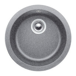 Blanco - Blanco 513382 Metallic Gray Rondo Rondo Single Basin Silgranit II Drop - Product Features:  Bar sink features color all the way through Highly resistant to scratching and chipping Heat resistant to 536? F Non-porous, resists most household stains Extremely hygienic, does not absorb bacteria Required clips for undermount installation type are not included - when adding sink to cart these will be presented as an option for purchase  About BlancoBlanco is a family owned company that has evolved over the better part of a century. Starting from humble beginnings making copper galvanized parts for cookers and heating elements, Blanco has grown to be a recognized leader in its industry. World renowned for producing the highest quality products, with the latest innovations and unsurpassed service, their products go far beyond mere functionality. Having great pride in their dedication to quality, Blanco ensures that every sink is inspected multiple times before earning the brand's name.Blanco also plays a major role in the practices of better business. Fully committed to the respect of moral business ethics Blanco is a member of the Caux Round Table, an international network of leaders in the business world working toward moral capitalism.