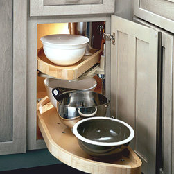 KITCHEN BLIND CORNER CABINET WITH PU-LL OUT TRAYS - Call us for an estimate!
