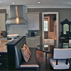 Contemporary Kitchen by KJ Construction, Inc.