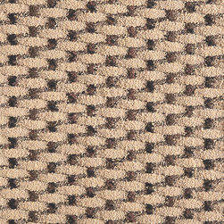 Weave a Story Carpet Tile - Inspired by the look of natural seagrass fibers, FLOR's Weave a Story™ carpet square is made from 100% recycled Nylon face fibers — a softer and more resilient material that offers added comfort and practicality that traditional sisal can't match. FLOR tiles measure 50cm square and connect together using patented FLORdot adhesives — sturdy, one-sided, non-toxic adhesives that connect to the bottom of each square and not to the floor surface.