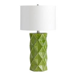 Cyan Design - Cyan Design Hoshi Table Lamp in Green Apple - Hoshi Table Lamp in Green Apple
