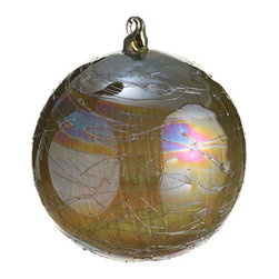 Silk Plants Direct - Silk Plants Direct Pearl Ice Web Glass Ball Ornament (Pack of 6) - Pack of 6. Silk Plants Direct specializes in manufacturing, design and supply of the most life-like, premium quality artificial plants, trees, flowers, arrangements, topiaries and containers for home, office and commercial use. Our Pearl Ice Web Glass Ball Ornament includes the following:
