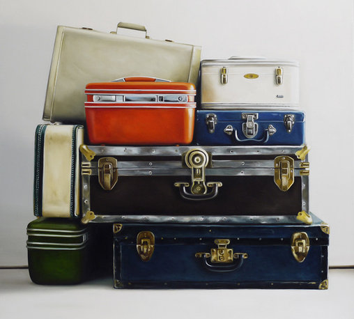 Christopher Stott - Baggage - Giclee on canvas
