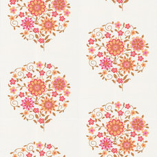 Traditional Wallpaper by Layla Grayce