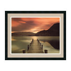 Amanti Art - 'Ullswater, Glenridding, Cumbria' Framed Print by Mel Allen - Mel Allen captures nature's serene beauty in Cumbria, the Lake District of England. You'll love that this stunning print was custom framed and matted to perfectly enhance the breathtaking scene.