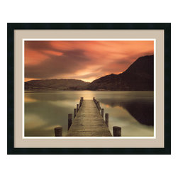 Amanti Art - Ullswater, Glenridding, Cumbria Framed Print by Mel Allen - Mel Allen captures nature's serene beauty in Cumbria, the Lake District of England. You'll love that this stunning print was custom framed and matted to perfectly enhance the breathtaking scene.