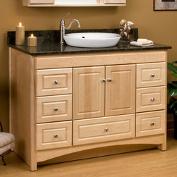 "48"" Treemont Vanity for Semi-Recessed Sink - Add a touch of traditional elegance to your master bath with the 48"" Treemont Vanity for Semi-Recessed Sink."
