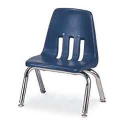 Virco - 9010 Classic Series Kids Chair (Wine) - Color: Wine. Plastic seat with steel back support. Stackable. Four legs. For preschool, kindergarten and related settings. GREENGUARD Certified. Seat Height: 10 in.. Overall: 14.63 in. W x 15 in. D x 18.38 in. H (6.5 lbs.)