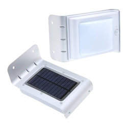 Ohr Lighting® - Ohr Lighting® Solar Powered LED Motion Sensor Stairway/Wall Light - Features
