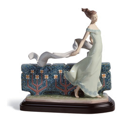 "Lladro Porcelain - Lladro Courageous Nature Figurine - Plus One Year Accidental Breakage Replacemen - ""Hand Made In Valencia Spain - Sculpted By: Joan Coderch - Limited To: 1000 Pieces Worldwide - Included with this sculpture is replacement insurance against accidental breakage. The replacement insurance is valid for one year from the date of purchase and covers 100% of the cost to replace this sculpture (shipping not included). However once the sculpture retires or is no longer being made, the breakage coverage ends as the piece can no longer be replaced. """