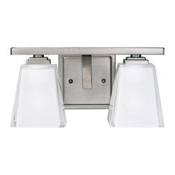 "Kichler - Kichler 5460AP Urban Ice 12.5"" Wide 2-Bulb Bathroom Lighting Fixture - Product Features:"