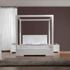 Bestsellers - Sanna - Modern High Post Bed by VIG Furniture