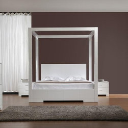 Bestsellers - Sanna - Modern High Post Bed by VIG Furniture