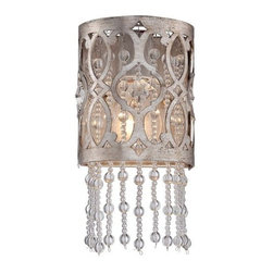 Minka Lavery - Minka Lavery 6841-276 1 Light Flush Mount Wall Sconce from the Lucero Collection - Single Light Wall Sconce from the Lucero CollectionFeatures: