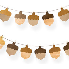 Contemporary Wreaths And Garlands by Paper Source