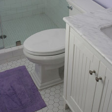 Traditional Bathroom little girls bathroom by Valerie Pedersen Interior Design
