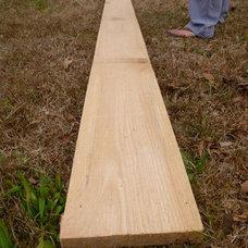 Straight Edge Solid Pine Rough Sawn Wood by BridgetonArtGallery
