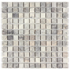 Traditional Mosaic Tile by All Marble Tiles