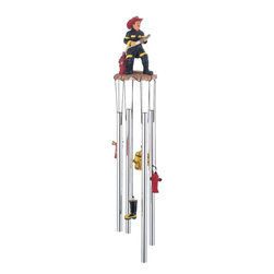 GSC - Wind Chime Round Top Fireman on Duty Hanging Garden Decoration Decor - This gorgeous Wind Chime Round Top Fireman on Duty Hanging Garden Decoration Decor has the finest details and highest quality you will find anywhere! Wind Chime Round Top Fireman on Duty Hanging Garden Decoration Decor is truly remarkable.