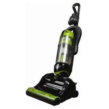 Panasonic - Panasonic JetTurn Upright Vacuum Green - The secret is the swivel! You'll breeze through vacuuming with this outstanding upright, thanks to a unique nozzle that gets around and under furniture for fast, efficient, effortless cleaning. And don't let the light weight (under 15 pounds) fool you — this bagless cyclonic beauty's got a 12-amp motor for powerful suction and a special brush designed to tackle pet hair.