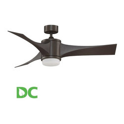 "Fanimation - Fanimation Jennix 52"" 3 Blade DC Ceiling Fan - Blades, Light Kit, and Remote Con - Included Components:"