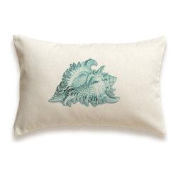 Seashell Pillow Cover 12x18 -