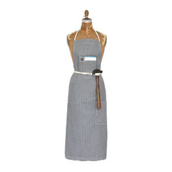 Tourne Herringbone Apron - Either bride or groom can don this fantastic apron to impress friends and family with a home-cooked meal — or at least look the part!