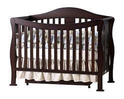Da Vinci - DaVinci Parker 3-PC Convertible Crib Nursery Set w/ Toddler Rail in Coffee - Da Vinci - Baby Crib Sets - K5101FK5152FK5155F3PcSet - DaVinci Parker 3-PC Convertible Crib Nursery Set w/ Toddler Rail in Coffee