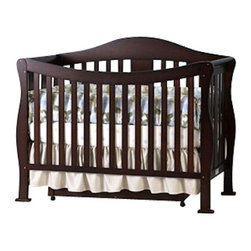 Da Vinci - DaVinci Parker 3-PC Convertible Crib Nursery Set w/ Toddler Rail in Coffee - Da Vinci - Baby Crib Sets - K5101FK5152FK5155F3PcSet - DaVinci Parker 3-PC Convertible Crib Nursery Set w/ Toddler Rail in Coffee