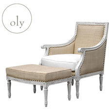 Traditional Armchairs And Accent Chairs by Oly Studio