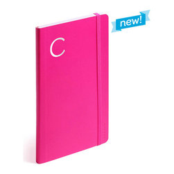 Personalized Soft Cover Notebook, Pink, Medium - Make a list, check it twice, this little notebook will make you look oh-so-nice.