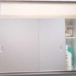 "American Pride - Medicine Cabinet 2 Light 24"" - Sliding Medicine Cabinet"