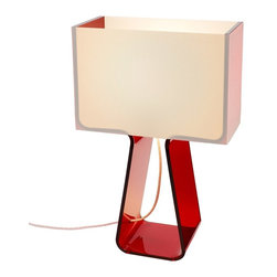 Pablo Designs - Tube Top Colors Table Lamp - Tube Top Colors Table Lamp