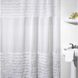 Creative Bath - Ruffles Shower Curtain Multicolor - S0892 - Shop for Shower Curtains from Hayneedle.com! About Creative BathFor over 30 years Creative Bath has developed innovative stylish bathroom decor items. They have grown exponentially and now you can find their products in major retail and online stores around the world. From shower curtains to soap dishes and everything in between Creative Bath brings you high quality items to enhance your lifestyle.