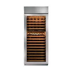 "Sub-Zero 30"" Wine Storage - Sub-Zero's largest wine storage unit can house up to 147 bottles."