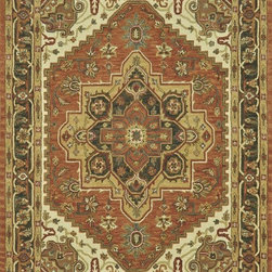 Loloi Rugs - Loloi Rugs Maple Antique Rust Traditional Hand Tufted Rug X-999700FA84-PMLPAM - Transform your home into a manor steeped in elegance and tradition with the majestic Maple Collection. These timeless Persian designs carry the rich heritage of centuries of carpet making in each arabesque, stylized flower and intricate border. Maple Collection rugs are hand-tufted in India of 100-percent wool so they are eco-friendly and mindfully crafted with sustainable materials. With colors as rich as these, you will feel like nobility every time you walk into your home.