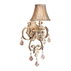 "Country - Cottage Empire 20 3/4"" High Swing Arm Wall Lamp"