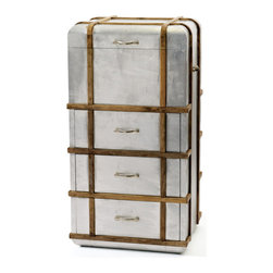 Steamer Chest - The Hip Vintage Steamer chest is a practical yet fantastic solution for any home decor. It will add a vintage styled clever storage solution. It is truly classic made easy to track down and locate, cleans up really well. It adds a little bit of rugged, shabby chic and antique kind of charm to any space. It can hide away all the odds and ends, games and junk materials that are not in use. They are made using sturdy wooden log overlaid with metallic handles. This steamer chest is an antique trunk that has real usefulness as a practical and ative item.