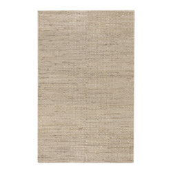 "Surya - Surya Tropics Hand Woven Beige Natural Jute Rug, 18"" x 18"" - The casual feel of the South Pacific is the inspiration in this licensed collection from Cabana Joe's Joe O'Brien. Made of jute and wool, these rugs have a unique hand woven herringbone weave, with colors that reflect the island lifestyle. Imported.Material: 100% JuteCare Instructions: Blot Stains"