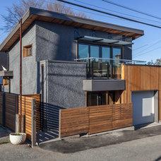 Contemporary Exterior by Lanefab Design/Build