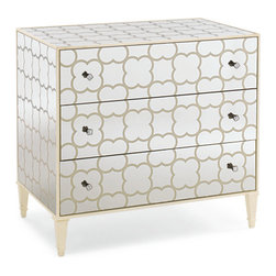 Mirrored Chest - Absolutely fabulous! This Mirrored Chest of Drawers really add a touch of glamour to rooms because of its 'wow' factor! We love the splash of bling this chest of drawers brings to every room we put it in!........Marrying Fashion & Decor'